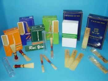 Woodwind Accessories, reeds, cleaning cloths
